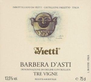 Barbera D'Asti Tre Vigne 2007 DDOC