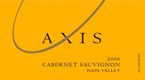 2006 Axis Cabernet from The Napa Valley in California