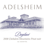 Adelsheim 2008 Deglace Pinot Noir from The Willamette Valley in Oregon