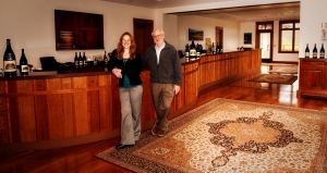 David and Katherine - Adelsheim Vineyard new tasting room