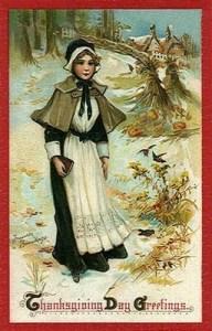 Pilgrim girl and a WineGuyMike fan