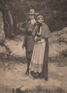 Pilgrims, America's first winemakers