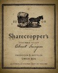 2008 Sharecropper's Cabernet Sauvignon from Owen Roe