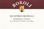 "Boroli ""Quattro Fratelli"" 2007 Barbera"