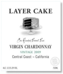 Layer Cake Virgin Chardonnay from Central Coast California