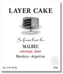 Layer Cake Malbec from Mendoza Argentina