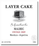 Layer Cake Malbec from Mendoza Argentina