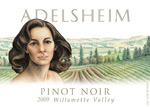 Adelsheim 2009 Willamette Valley Pinot Noir