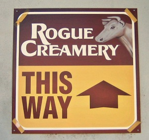 Follow me to the Rogue Creamery