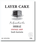 Layer Cake Shiraz from the Barossa Valley in South Australia