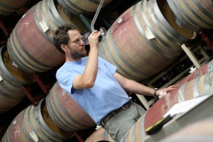 Head winemaker Anthony Beckman