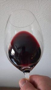 Large Riedel Red Wine Glass for big red's high in % of alcohol