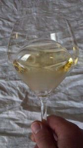 Riedel's newest style Chardonnay Wine Glass