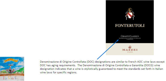 DOCG Label